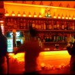 Timelapse of people behind the bar — Stock Video #39634983