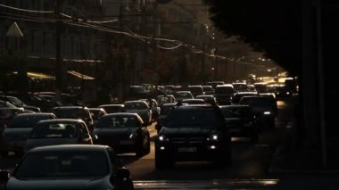 Ruchu samochodowego — Wideo stockowe