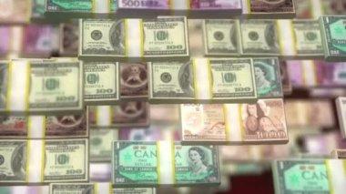 Heart of money — Stockvideo