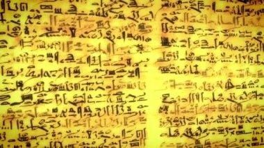 Script di antico sconosciuto — Video Stock