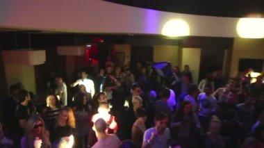 Night club party — Stock Video