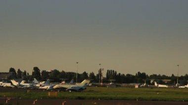 商务喷气机 — 图库视频影像