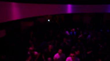 Light splash in club — Video Stock