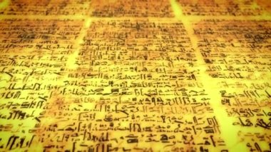 Ancient script — Stock Video