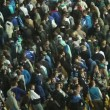 Fans turn back on losing team — Stock Video #47793109