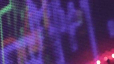 Nightclub abstraction — Stock Video