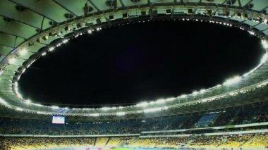 Tetto arena sportiva — Video Stock