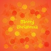 Merry Christmas. New Year's background — Vector de stock