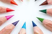 Colored pencils. — Stock Photo