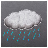 A rainy cloud — Stock Photo