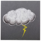 Thunderstorm cloud — Stock Photo