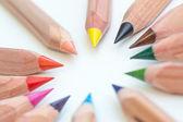Different pencils — Stock Photo