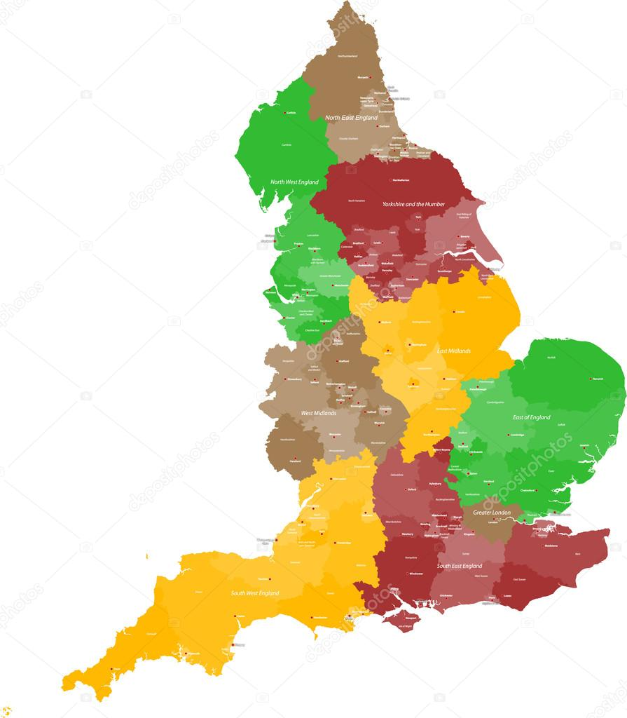 Map Of England 950.Map Of England 950
