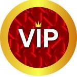 VIP icon — Stock Vector