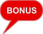 Icon bonus — Stock Vector