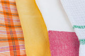 Fabric samples close up — Stock Photo