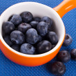 Bowl with sweet berries — Stock Photo #41436663