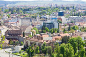 Scenic view above of Cluj-Napoca, Romania — Stock Photo