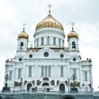 Cathedral of Christ the Saviour, Moscow — Stock Photo #46235543