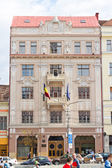 The building of Romanian National Bank, Cluj-Napoca — Stock Photo