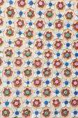 Ceramic decor flower — Photo
