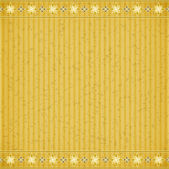 Gold flower card board texture — Stock Vector