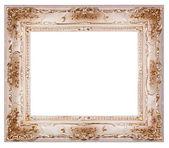 пустая рамка рисунка изолирован на белом — Стоковое фото