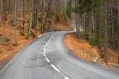 Twisting road — Stock Photo