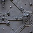 Ancient forged door — Stock Photo #39102163