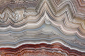 The polished cut of agate — Stock Photo