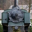 Stock Photo: Steam locomotive for trips to Alpes