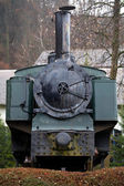 Steam locomotive for trips to the Alpes — Stock Photo