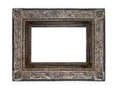 Empty picture frame isolated on white — Foto Stock