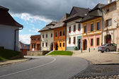 Ancient Slovak city Spisska Sobota — Stock Photo