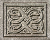 Ancient Celtic ornament — Stock Photo
