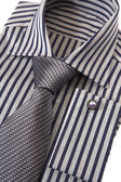 Shirt with necktie — Stockfoto