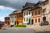 Ancient Slovak city Spisska Sobota — Stock Photo