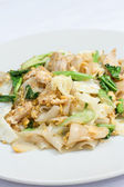 Pad Se-ew Moo, Thai food — Stock Photo