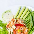 Papaysalad — Stock Photo #37851711