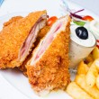 Photo: Pork cordon bleu