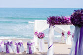 Wedding set up — Stockfoto