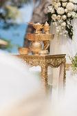Thai wedding — Stock Photo