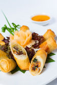 Chinese Traditional Spring rolls — Stock Photo