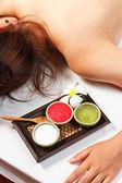 Woman spa treatment — Stock Photo