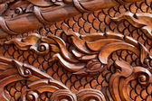 Thai handmade woodcraft — Stockfoto