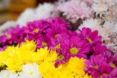 Flowers wedding set up — Stock Photo