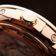 Luxury gold watch swiss made — 图库照片