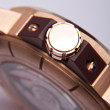 Luxury gold watch swiss made — стоковое фото #37818895