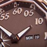 Luxury gold watch swiss made — Stock Photo #37819031