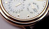 Luxury gold watch swiss made — Foto de Stock